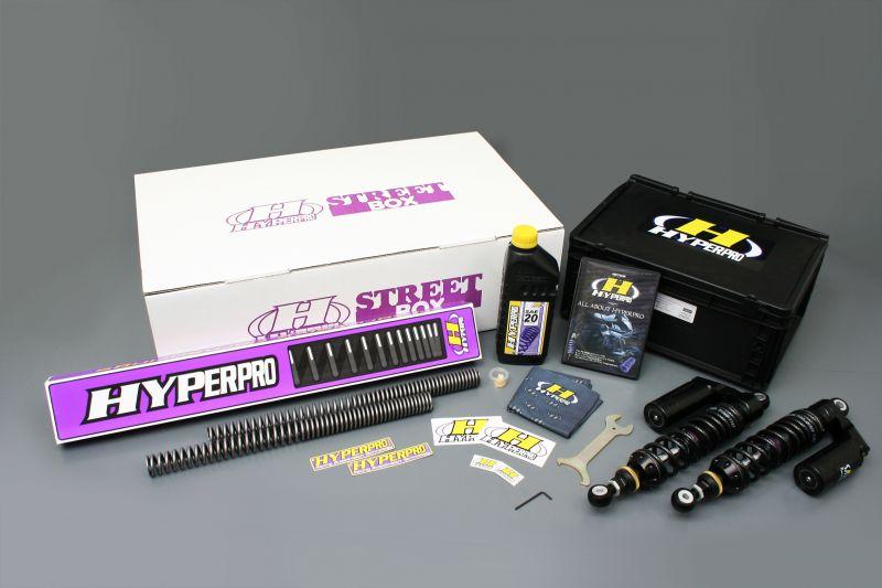 XJR1300(98~99年)国内仕様 ストリートボックス ツインショック 367 ピギーバックボディー ハイパープロ(HYPER PRO)