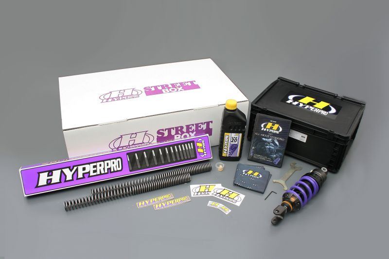 ZX-12R(04~06年) ストリートボックス モノショック 460 エマルジョンボディー ハイパープロ(HYPER PRO)