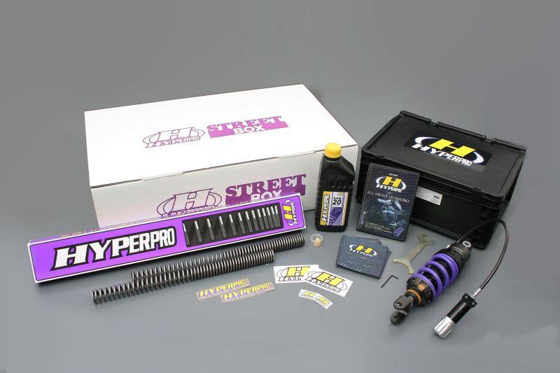 Ninja1000(ニンジャ)11~13年 ストリートボックス モノショック 460 エマルジョンボディーHPA付 ローダウンタイプ -30mm ハイパープロ(HYPER PRO)