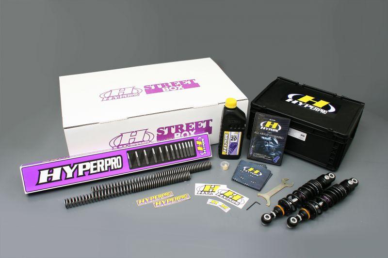 XL1200/XL883(05~09年) ストリートボックス ツイン 360 エマルジョン(336mm/13.2インチ) ハイパープロ(HYPER PRO)