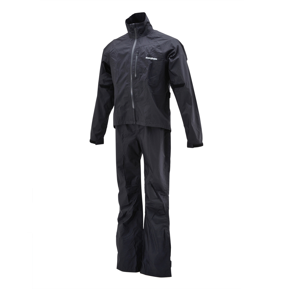 HR-001 ブラック マイクロレインスーツ HR-001 ブラック XLサイズ HenlyBegins(ヘンリービギンズ), 小さいサイズSHOP Chou Rose:89174ef7 --- loveszsator.hu