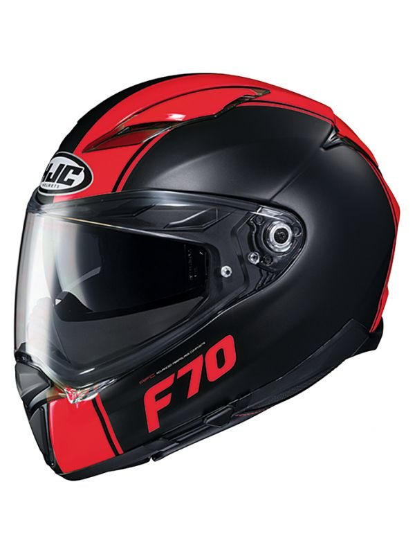 HJH194 F70 マーゴ BLACK/RED L(59~60cm) HJC