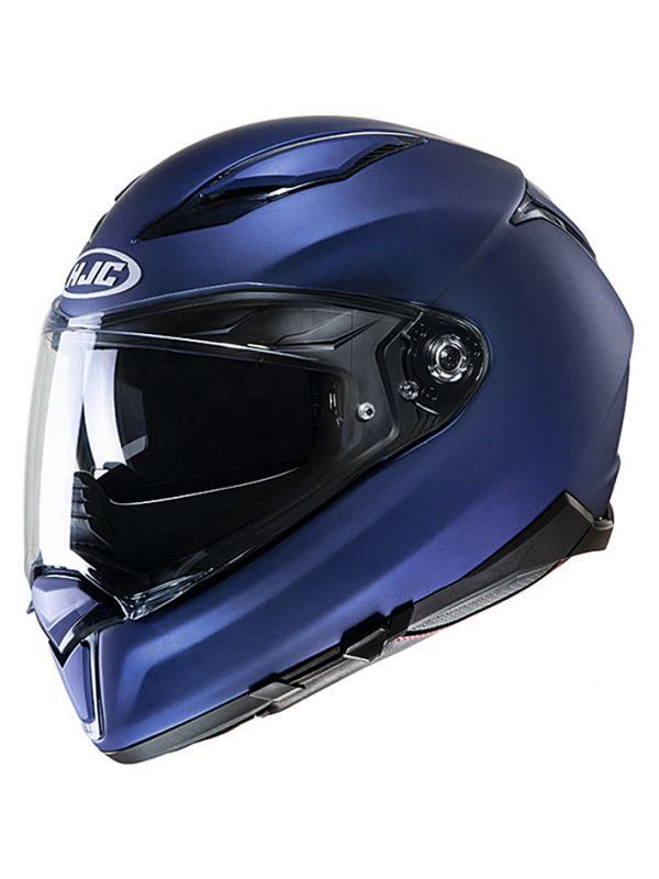 HJH205 F70 ソリッド SEMI FLAT METALLIC BLUE L(59~60cm) HJC