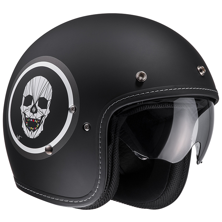 HJH127 FG-70S オープンフェイスヘルメット アポル S(55-56)サイズ HJC