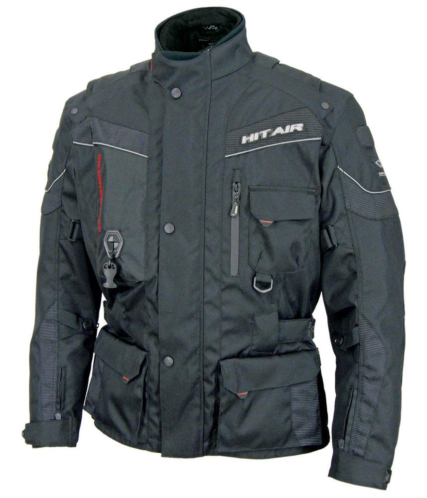 EU-6 エアバッグジャケット ブラック XLサイズ hit-air(ヒットエアー)