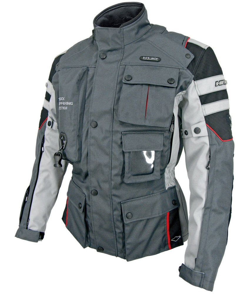 Motorrad-2 エアバッグジャケット ダークグレー 3XLサイズ hit-air(ヒットエアー)