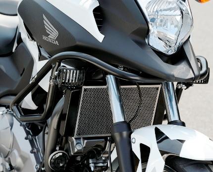 NC750X(RC72)ABS車 エンジンガード スチール製ブラック HEPCO&BECKER(ヘプコアンドベッカー)