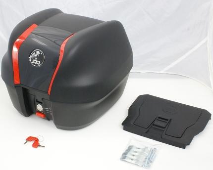 Ninja250R(ニンジャ)2013年~ JOURNEYトップケース30 ブラック 32リットル 専用ベース付 HEPCO&BECKER(ヘプコアンドベッカー)