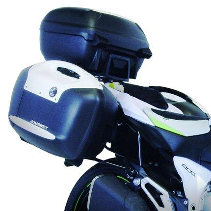 Z800(2013年~) サイドキャリア ブラック(サイドケース装着用) HEPCO&BECKER(ヘプコアンドベッカー)