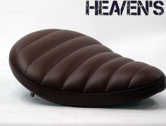 スタンダートフォーム フラットタイプ タックロール ブラウン ヘブンズシート(HEAVEN'S)