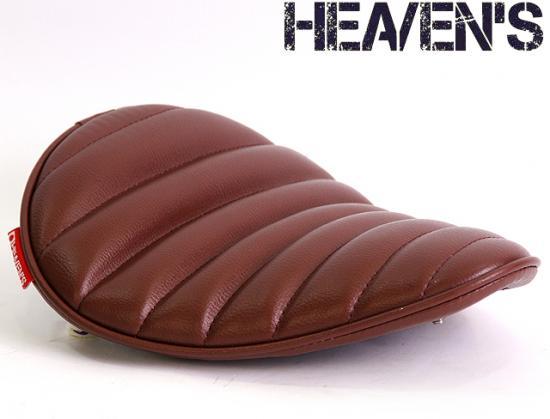 低反発スーパーフラットフォーム バックサイドアップ タックロール ブラウン ヘブンズシート(HEAVEN'S)