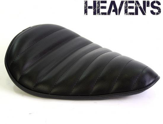 デラックスワイドフォーム バックサイドアップ タックロール ブラック ヘブンズシート(HEAVEN'S)