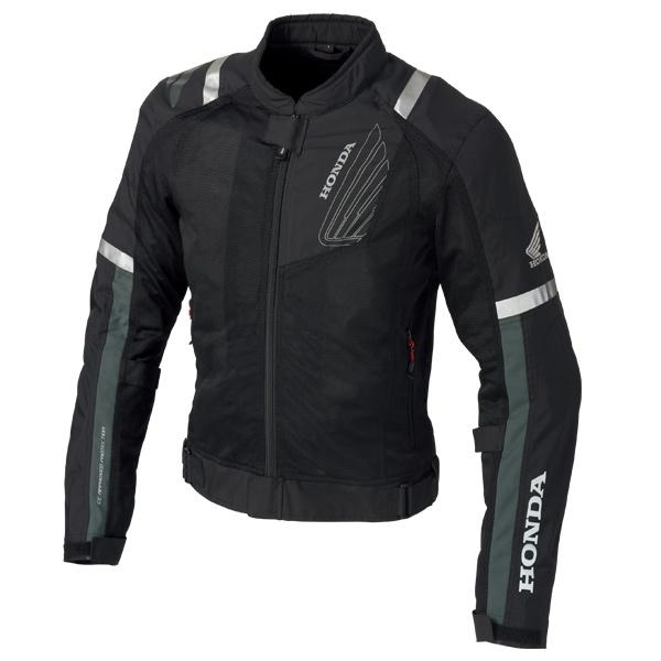 0SYEJ-Y3K-K プロテクトライディングメッシュジャケット ブラック Mサイズ HONDA(ホンダ)