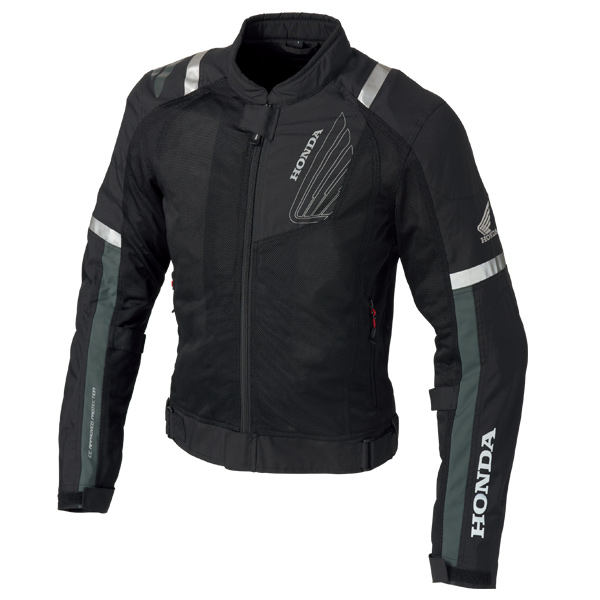 0SYEJ-Y3K-K プロテクトライディングメッシュジャケット ブラック Sサイズ HONDA(ホンダ)