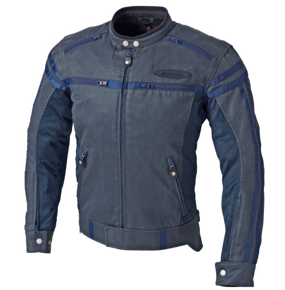 0SYEX-Y3P-V ヴィンテージ・ライダースジャケット ネイビー LLサイズ HONDA(ホンダ)