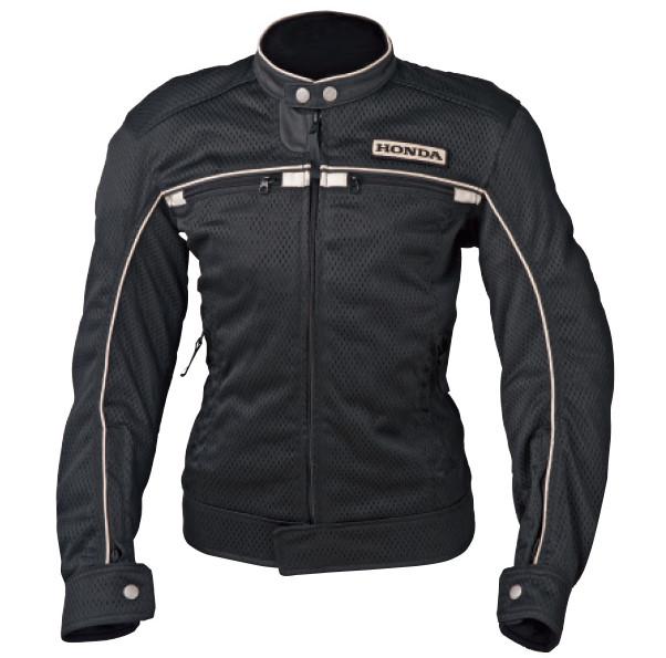 0SYEX-Y3R-K メッシュ・ライダースジャケット ブラック Lサイズ HONDA(ホンダ)