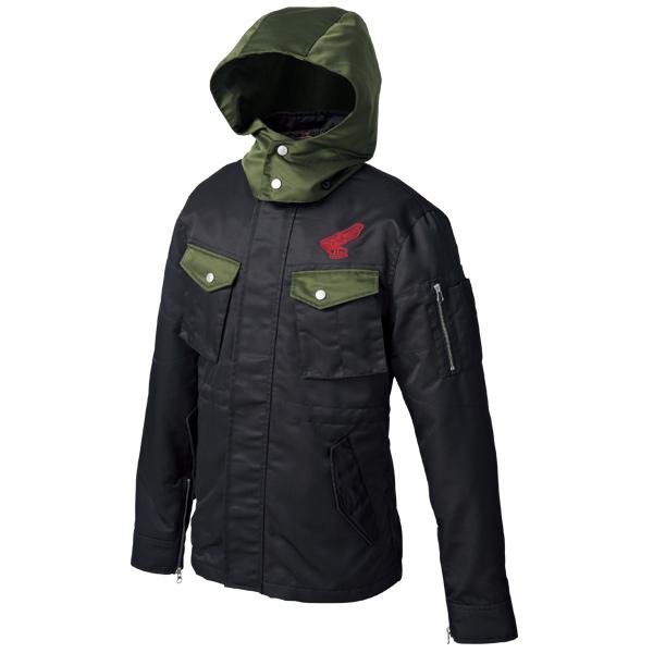 0SYTK-Y3Z-K ミリタリージャケット ブラック Mサイズ HONDA(ホンダ)