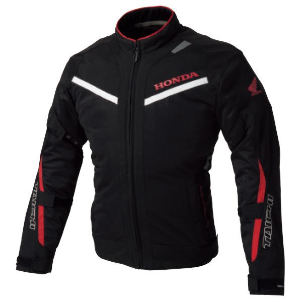 0SYTP-Y3H-K イングラムメッシュジャケット ブラック/レッド Lサイズ HONDA(ホンダ)