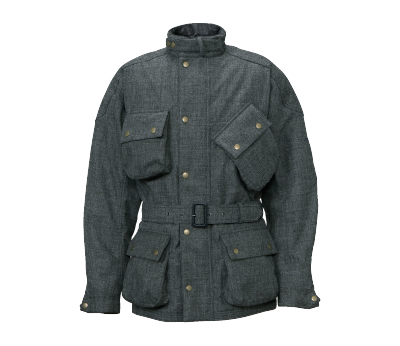 0SYTH-T3X-N クラシックロングジャケット グレー LLサイズ HONDA(ホンダ)