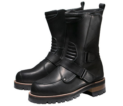 0SYTL-T71-K ハイソールミドルブーツ ブラック/ブラック 28.0cm HONDA(ホンダ)