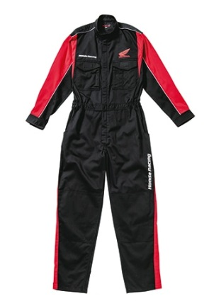 レーシングピットスーツLS 長袖 出荷 ブラック 安い 4Lサイズ HONDA ホンダ