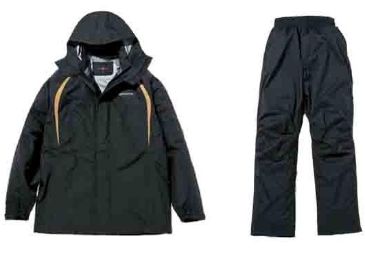 スリーレイヤーレインスーツTH-P41 ブラック Sサイズ HONDA(ホンダ)
