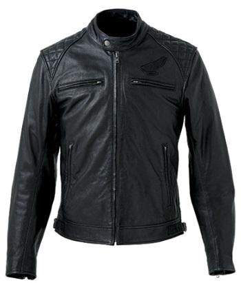 ゴートスキンレザージャケット ブラック Mサイズ HONDA(ホンダ)