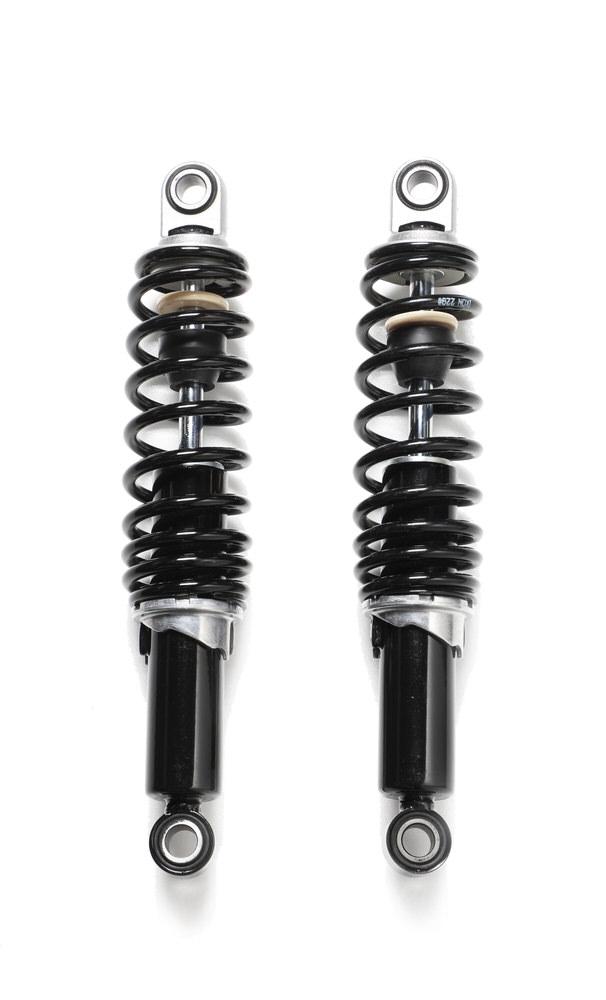 IKON(アイコン)サスペンション ブラックボディ/ブラックスプリング12インチ(305mm) スポーツスター FXR (オール年式 )