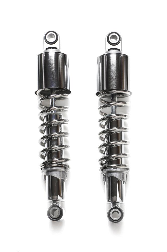 IKON(アイコン)サスペンション メッキボディ/メッキスプリング304mm Estrellaエストレヤ(BJ250)(92~02年)