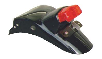 ルーカスランプ付き リアフェンダー キーロックタイプ用 K&H(ケイアンドエイチ) GB250 90年~(4型)