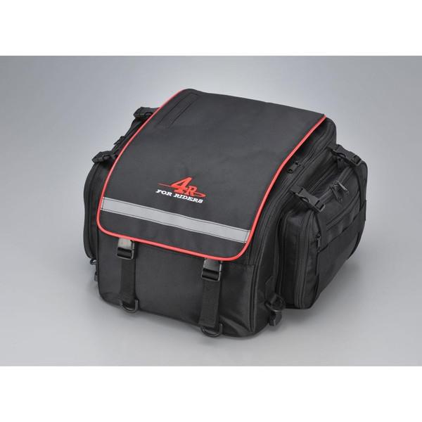 ツーリングシートバッグL ライム 26リットル 350(+100)×350×250 4R(フォーアール)