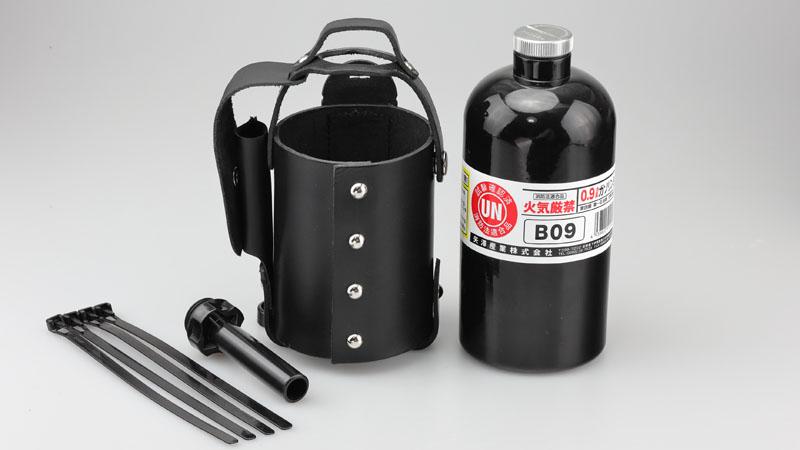 ガソリンボトル&レザーホルダーセット 900cc ブラック KIJIMA(キジマ)