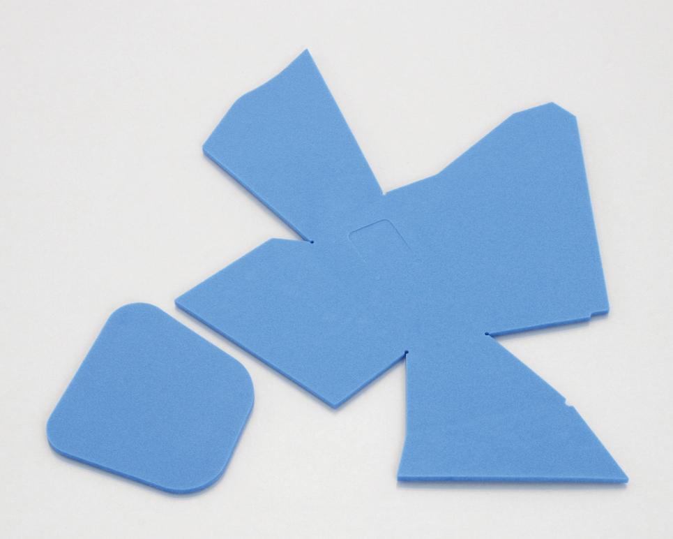 開店祝い ダンク Dunk AF74 ポケットクッションセット ブルー キタコ トラスト KITACO