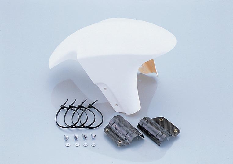 APE100(エイプ)HC07 エアロダウンフェンダー タイプ2/FRPゲルコート白 KITACO(キタコ)