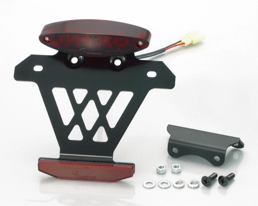 モンキー(MONKEY)/ゴリラ(キャブ車) LEDテールランプキット スーパースリムタイプ/赤色/ノーマルキャリアー対応 KITACO(キタコ)