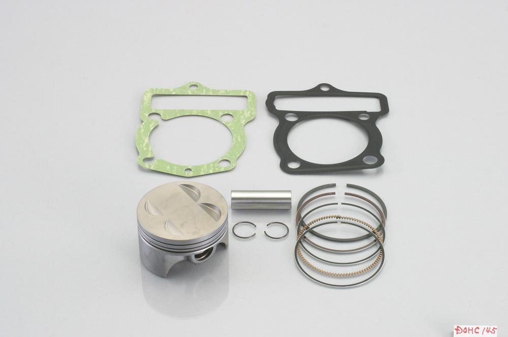 【送料無料】 APE100(エイプ)/タイプD 鍛造ピストンキット DOHC 145cc/鍛造ピストン3R KITACO(キタコ)