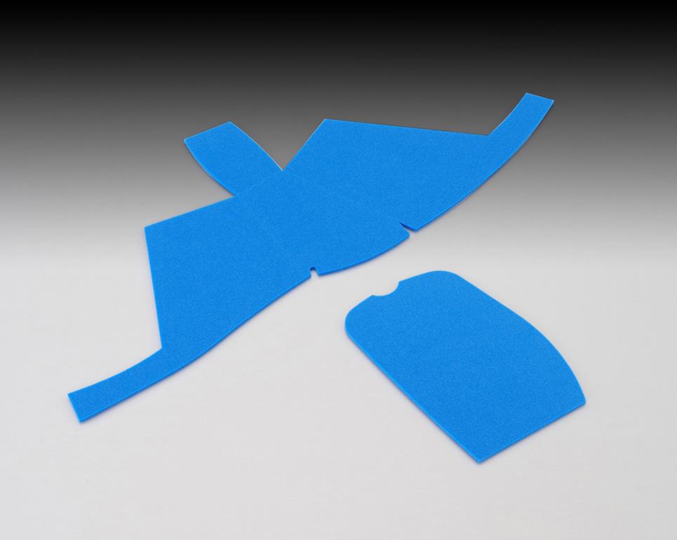 ジョルノ AF77 ポケットクッション ブルー 衝撃吸収シート KITACO 国内在庫 バースデー 記念日 ギフト 贈物 お勧め 通販 キタコ