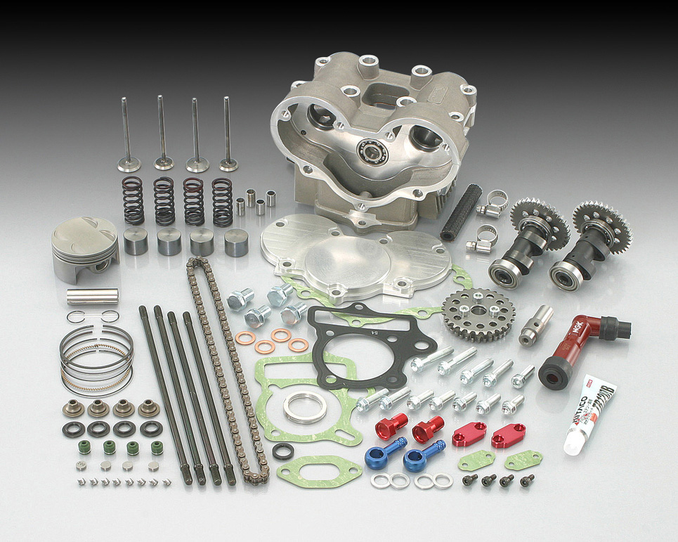 XR50R(AE03) バージョンアップキット type2(124cc ULTRA-SE/SE-PRO→124cc DOHC) KITACO(キタコ)