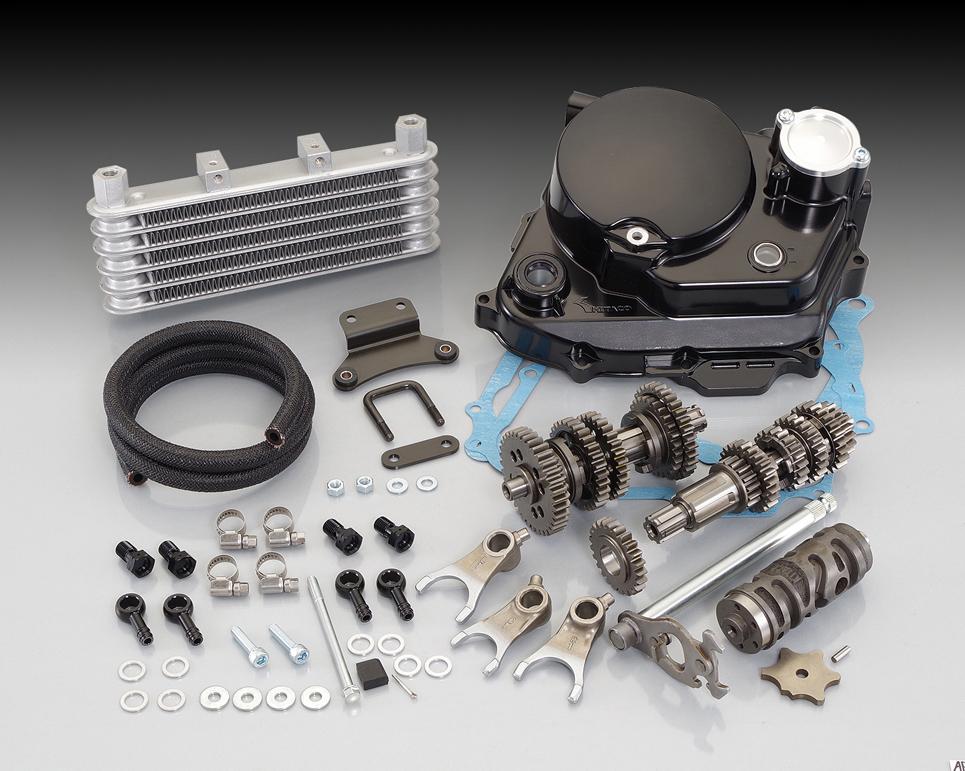 ULTRAドライブキット ブラック KITACO(キタコ) APE50(エイプ)/(FI車)、タイプD/(FI車)