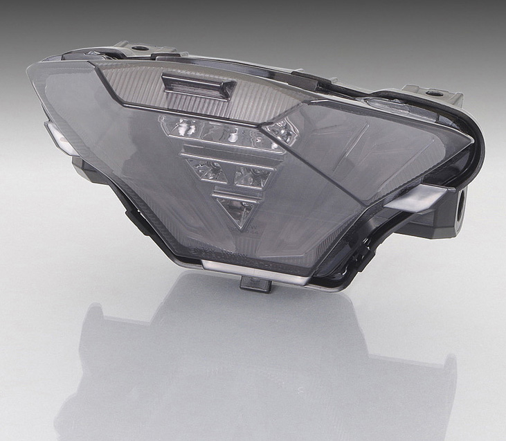 YZF-R25(1WD/2WD) LEDテールランプセット スモーク KITACO(キタコ)