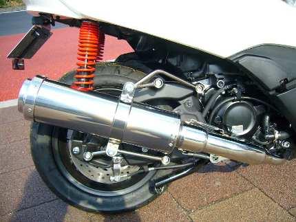 フォルツァSi MF12(FORZA) BLITZ マフラー ステンレス JMCA認定 コタニモータース(KOTANI MOTORS)