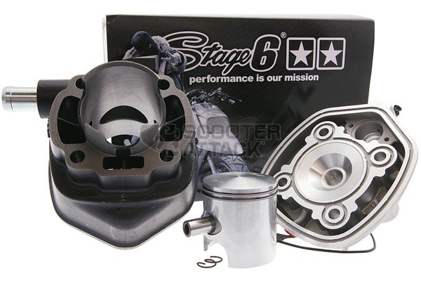 STAGE6 水冷スチールシリンダー (68cc) 47mm KN企画 エアロックス50(AEROX)