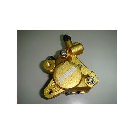 2POTキャリパー 対向キャリパー 鋳造キャリパー ゴールド KN企画 ビーウィズ(BWS100)