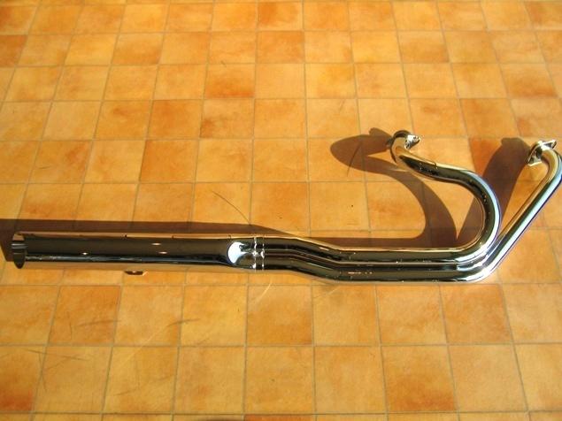 ローライダー2in1マフラー90Φ KENTEC(ケンテック) イントルーダークラシック400(~08年)