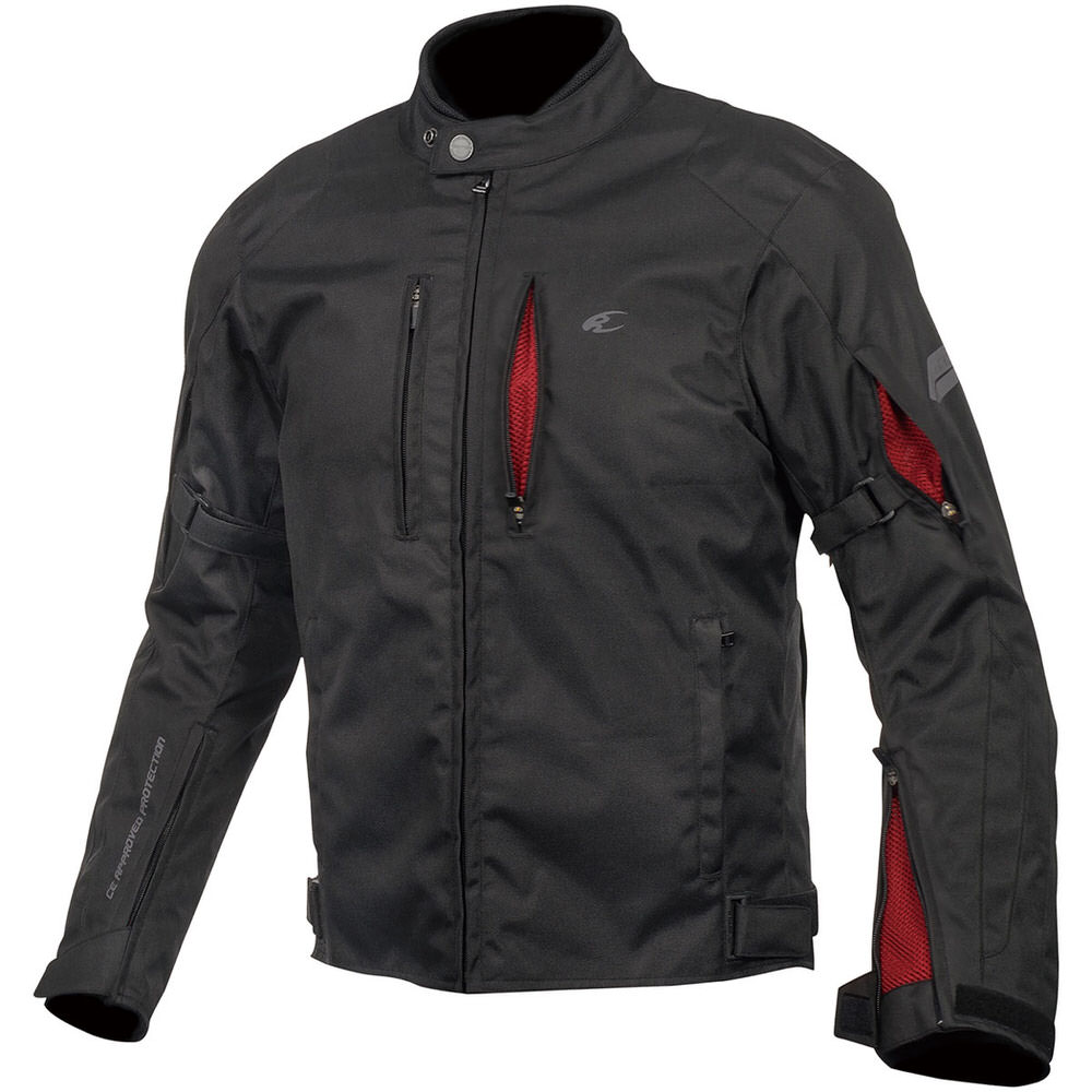 JK-603 プロテクトウィンタージャケット ブラック/レッド 2XLサイズ コミネ(KOMINE)
