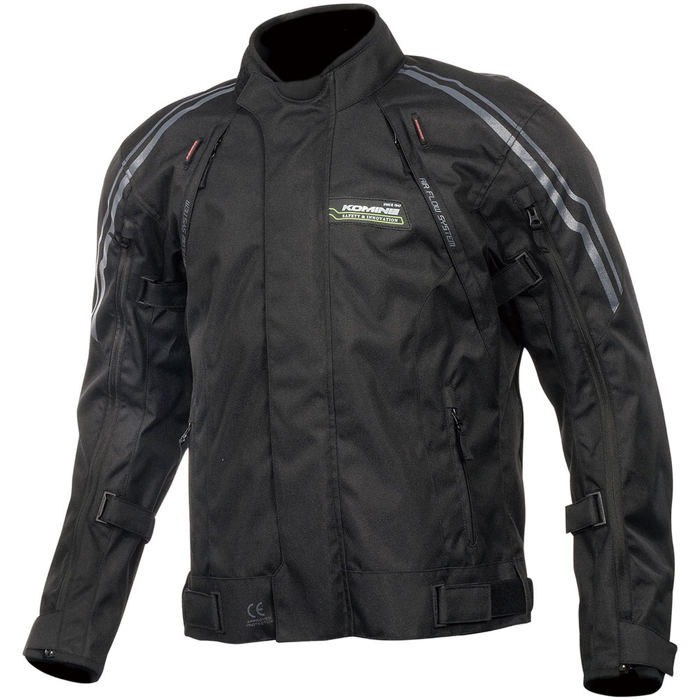 JK-599 フルイヤーシステムジャケット ブラック WLサイズ(レディース) コミネ(KOMINE)