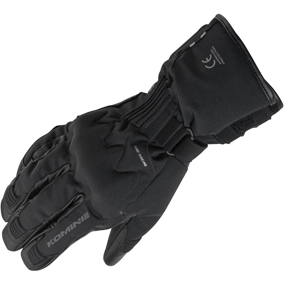 ブラック 2XLサイズ プロテクトウィンターグローブ GK-828 AIR GEL コミネ(KOMINE)