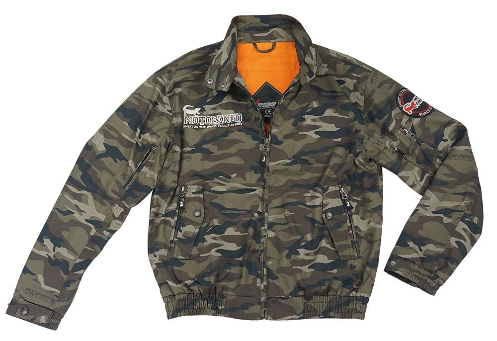 JK-591 07-591 プロテクトスイングトップジャケット カモフラージュ Mサイズ コミネ(KOMINE)