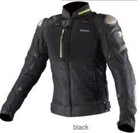 JK-091(07-091)チタニウムメッシュジャケット 3D ブラック Sサイズ コミネ(KOMINE)