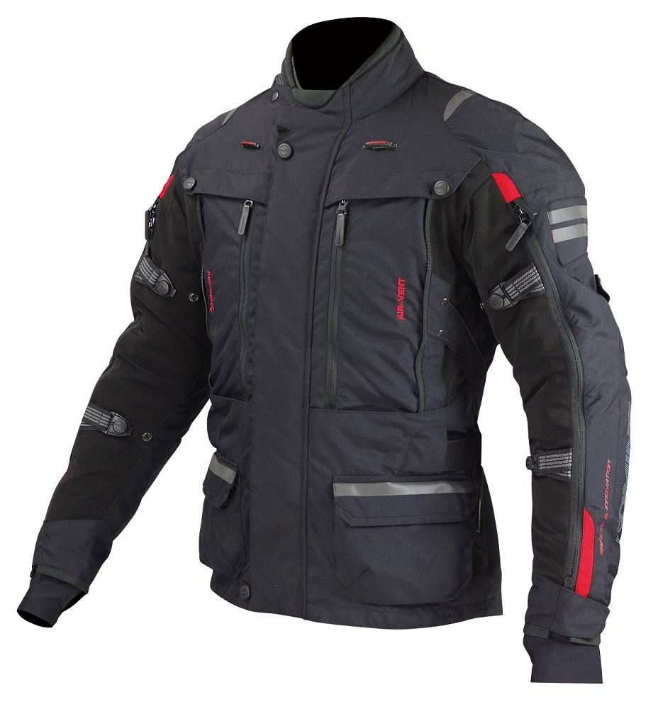 JK-574 07-574 フルイヤーツーリングジャケット-ラーマII ブラック 5XLサイズ コミネ(KOMINE)